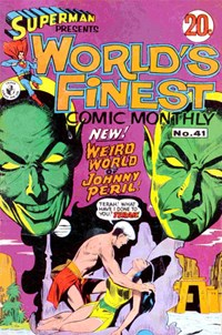 Superman Presents World's Finest Comic Monthly (Colour Comics, 1965 series) #41 ([September 1968?])