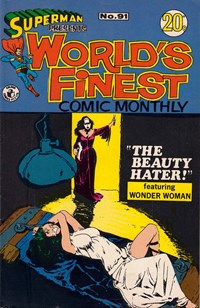 Superman Presents World's Finest Comic Monthly (Colour Comics, 1965 series) #91 — The Beauty Hater!