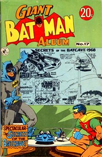 Giant Batman Album (Colour Comics, 1962 series) #17 ([March 1969?])