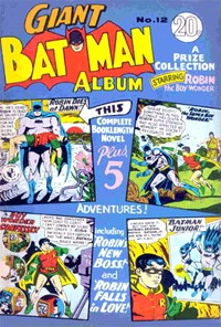 Giant Batman Album (Colour Comics, 1962 series) #12 ([March 1967?])