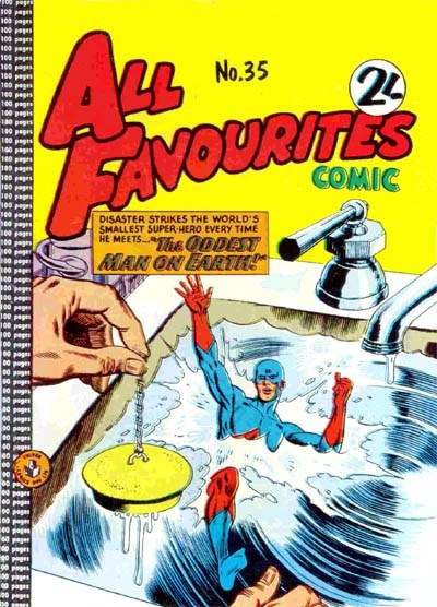 All Favourites Comic (Colour Comics, 1960 series) #35 ([February 1963?])