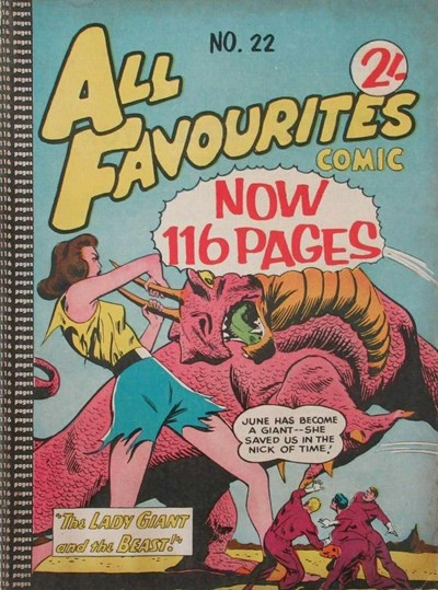 All Favourites Comic (Colour Comics, 1960 series) #22 ([December 1960?])