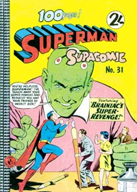 Superman Supacomic (Colour Comics, 1959 series) #31 — No title recorded