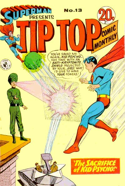 Superman Presents Tip Top Comic Monthly (Colour Comics, 1965 series) #13 ([May 1966?])