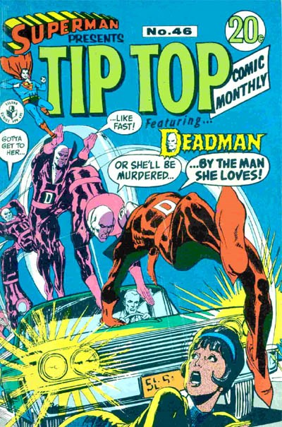 Superman Presents Tip Top Comic Monthly (Colour Comics, 1965 series) #46 ([February 1969?])