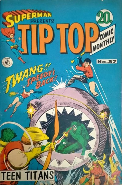 Superman Presents Tip Top Comic Monthly (Colour Comics, 1965 series) #37 ([May 1968?])