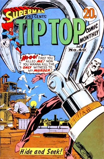 Superman Presents Tip Top Comic Monthly (Colour Comics, 1965 series) #40 ([August 1968?])