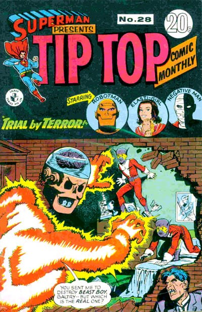 Superman Presents Tip Top Comic Monthly (Colour Comics, 1965 series) #28 ([August 1967?])