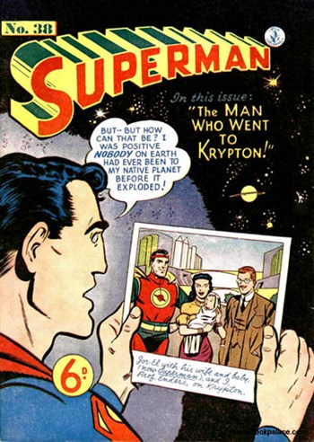 Superman (Colour Comics, 1950 series) #38  (May 1953)