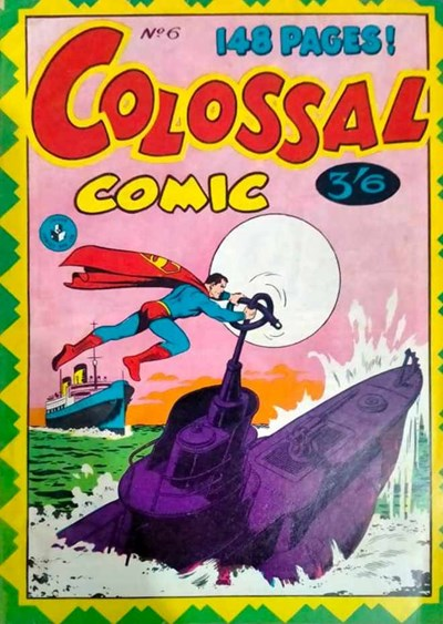 Colossal Comic (Colour Comics, 1958 series) #6 ([October 1958?])
