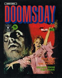 Doomsday Album (Murray, 1977 series) #15 — What Evil Haunts This House?