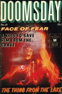 Doomsday (Sport Magazine, 1972 series) #10 — Face of Fear