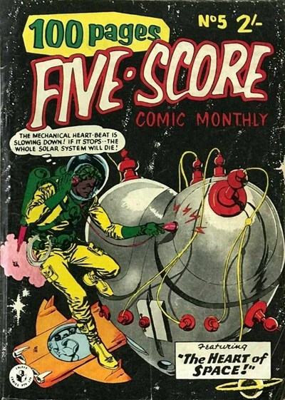 Five-Score Comic Monthly (Colour Comics, 1958 series) #5 ([September 1958?])