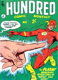 The Hundred Comic Monthly (Colour Comics, 1956 series) #11 — No title recorded