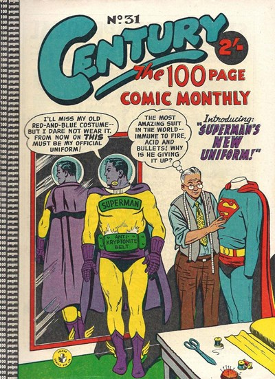 Century the 100 Page Comic Monthly (Colour Comics, 1956 series) #31 ([December 1958?])