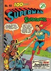 Superman Supacomic (Colour Comics, 1959 series) #40 ([December 1962?])