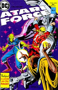 Atari Force (Federal, 1984 series) #4 — Untitled