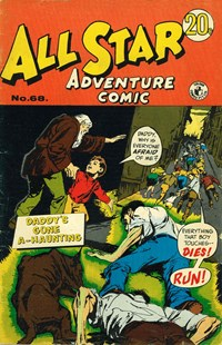 All Star Adventure Comic (Colour Comics, 1960 series) #68