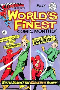 Superman Presents World's Finest Comic Monthly (Colour Comics, 1965 series) #16 ([August 1966?])