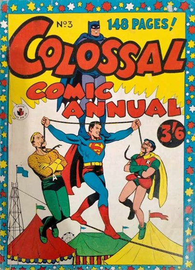 Colossal Comic Annual (Colour Comics, 1956 series) #3 ([August 1957?])