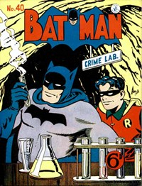 Batman (Colour Comics, 1952 series) #40