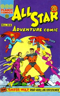 All Star Adventure Comic (KG Murray, 1973 series) #86
