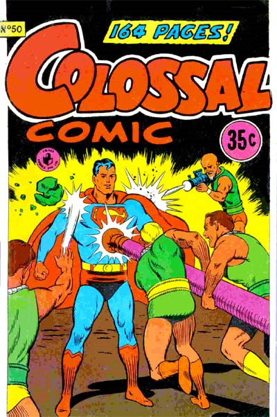 Colossal Comic (Colour Comics, 1958 series) #50 (August 1969)