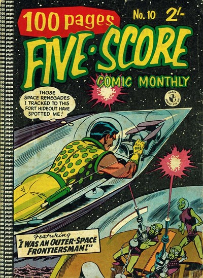 Five-Score Comic Monthly (Colour Comics, 1958 series) #10 ([February 1959?])