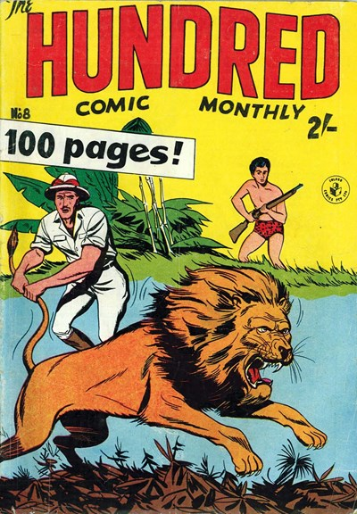 The Hundred Comic Monthly (Colour Comics, 1956 series) #8 ([May 1957?])