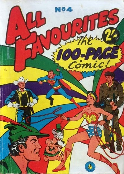 All Favourites, The 100-Page Comic (Colour Comics, 1958 series) #4 ([February 1958?])