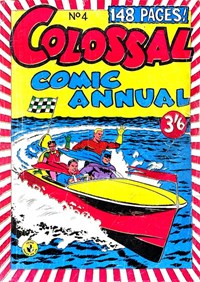 Colossal Comic Annual (Colour Comics, 1956 series) #4 — No title recorded