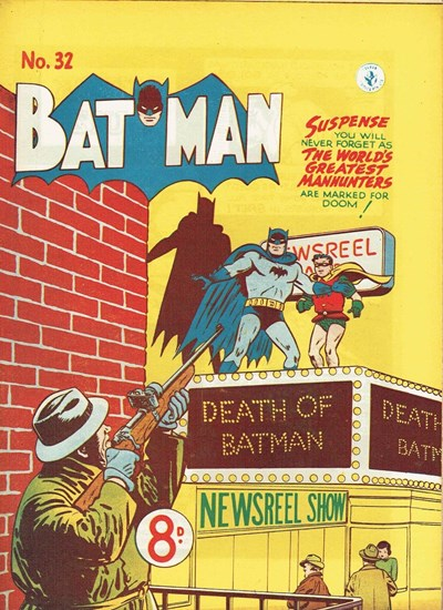 Batman (Colour Comics, 1950 series) #32 ([January 1953])