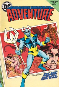 Adventure (Federal, 1983 series) #7 — Untitled (Cover)