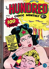 The Hundred Comic Monthly (Colour Comics, 1956 series) #20 — The World's Most Dangerous Human!