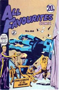 All Favourites Comic (Colour Comics, 1960 series) #82 — No title recorded