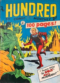 The Hundred Comic Monthly (Colour Comics, 1956 series) #10 — The Space-Mail Mystery!