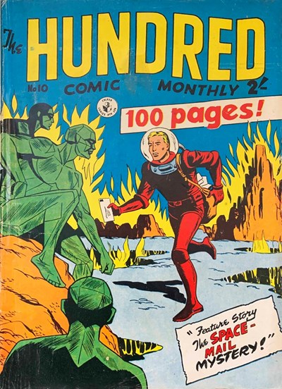 The Hundred Comic Monthly (Colour Comics, 1956 series) #10 ([July 1957?])