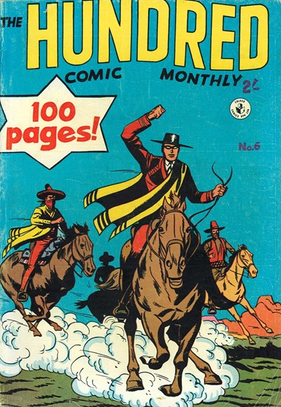 The Hundred Comic Monthly (Colour Comics, 1956 series) #6 ([March 1957?])