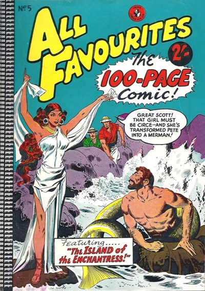 All Favourites, The 100-Page Comic (Colour Comics, 1958 series) #5 ([March 1958?])