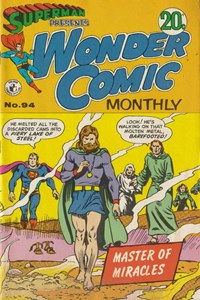 Superman Presents Wonder Comic Monthly (Colour Comics, 1965 series) #94 — Master of Miracles