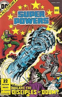 Super Powers (Federal, 1985 series)  — Who are the Disciples of Doom?