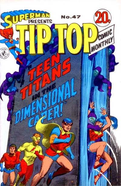 Superman Presents Tip Top Comic Monthly (Colour Comics, 1965 series) #47 ([March 1969?])