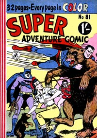 Super Adventure Comic (Colour Comics, 1950 series) #81