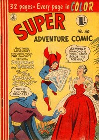 Super Adventure Comic (Colour Comics, 1950 series) #80 — The Super-Rivals