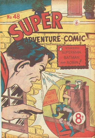 Super Adventure Comic (Colour Comics, 1950 series) #48 ([June 1954])