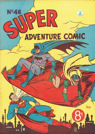 Super Adventure Comic (Colour Comics, 1950 series) #46 ([April 1954])