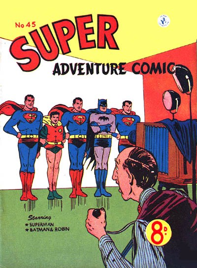 Super Adventure Comic (Colour Comics, 1950 series) #45 ([March 1954])