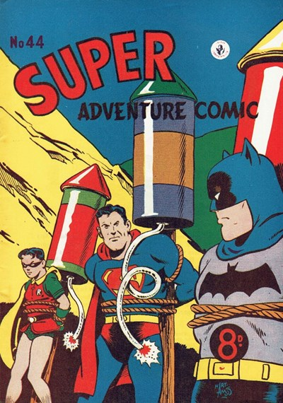 Super Adventure Comic (Colour Comics, 1950 series) #44 ([February 1954?])