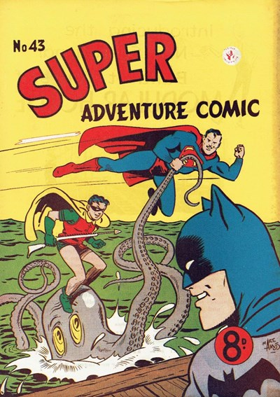 Super Adventure Comic (Colour Comics, 1950 series) #43 ([January 1954])