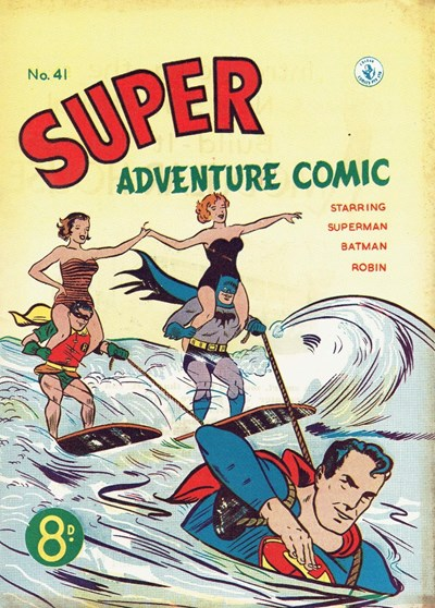 Super Adventure Comic (Colour Comics, 1950 series) #41 ([November 1953])